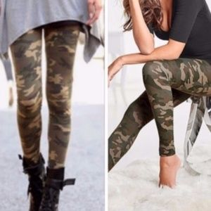 One Size Camo Buttery Leggings - NWT